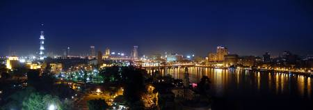 Night-time Cairo