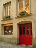 Red Door On Junkerngasse