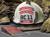 East Pierce Battalion Chief Adams
