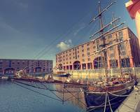 Clipper Parked in the Albert Dock