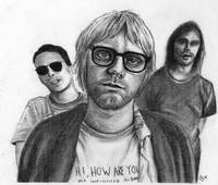 Nirvana Portrait Drawing