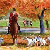 """Fall Hunt"" by rachelsstudiodotcom"