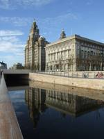 Liverpool Pierhead Liver building Canal Waterfront