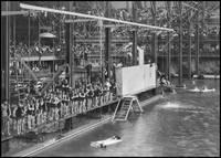 Sutro Baths interior c1890, San Francisco by WorldWide Archive