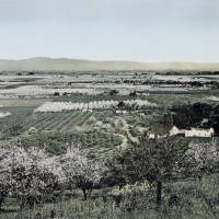"""Overlooking Santa Clara Valley • c1890"" by worldwidearchive"