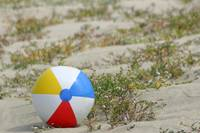 Forgotten Beach Ball