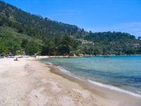 Golden Beach. Thassos.