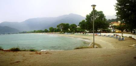 GOLDEN BEACH PANORAMA 2. THASSOS