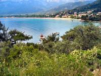 THASSOS . GOLDEN BEACH BAY.