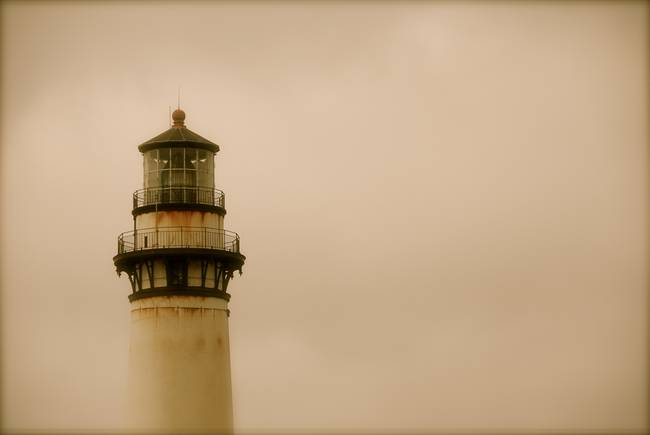 lighthouse half