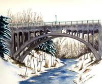 Lanterman's Falls Bridge (Mill Creek Park)