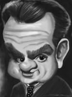 James Cagney Caricature