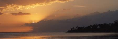 Jamaican Sunset (Panoramic)