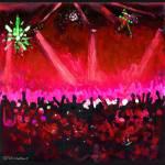 Disco Ball - Red by RD Riccoboni by RD Riccoboni