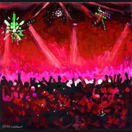 Disco Ball - Red by RD Riccoboni