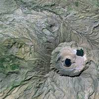 Marrah Mountains (Sudan) : Satellite Image