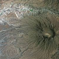 Andes (Chile) : Satellite Image