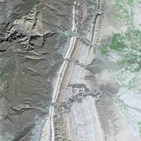 Sulaiman Mountains (Pakistan) : Satellite Image