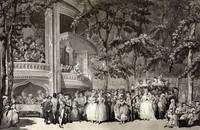 Crowd at Vauxhall Gardens