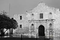 The Alamo After Sunset