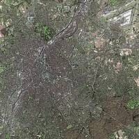 Brussels (Belgium) : Satellite Image