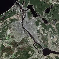 Riga (Latvia) : Satellite Image