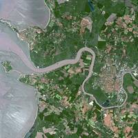 Rochefort (France) : Satellite Image