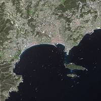 Cannes (France) : Satellite Image