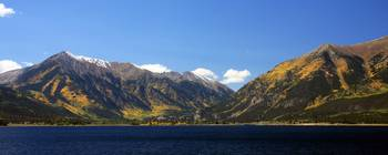 Mountains at Twin Lakes (Panoramic)