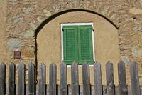 Green Shutters Closed