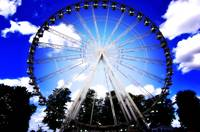 Great wheel in Royal Windsor Park England.