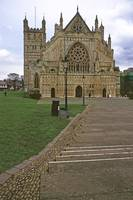 Exeter Cathedral, Mid-Winter 2 by Priscilla Turner