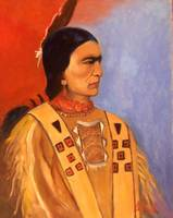 Native American Indian Sioux Warrior