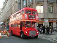 London Routemaster Bus - The Strand