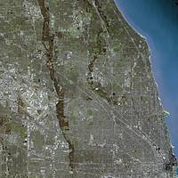 Chicago (United States) : Satellite Image