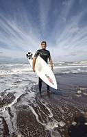 Wide angle Surfer