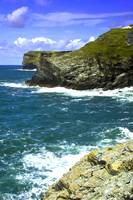 Tintagel view 1