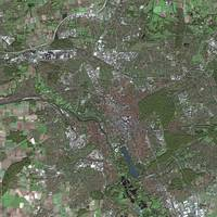 Hanover (Germany) : Satellite image