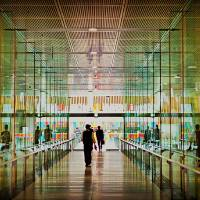 Tokyo International Forum Art Prints & Posters by Jeff Henig