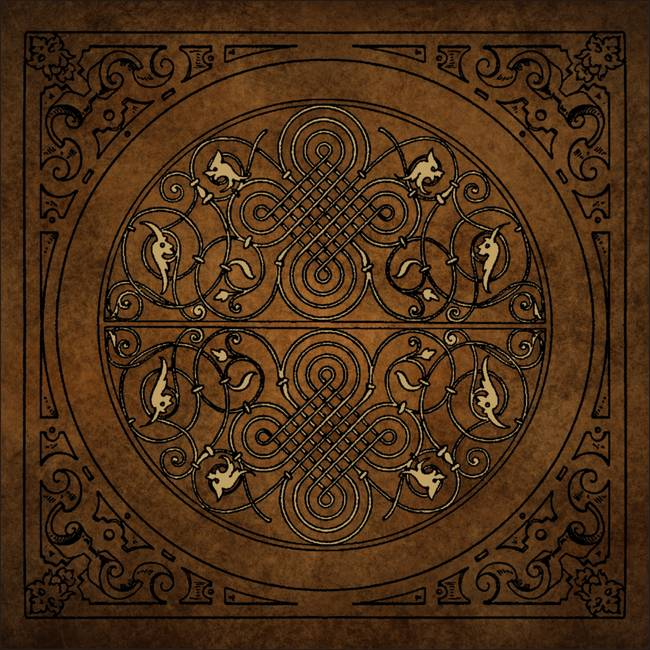 Medieval Ornament 4 by Todd Hallock