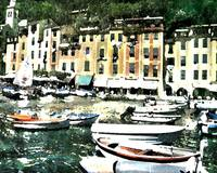 Morning in Portofino