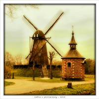 the windmills of my mind Art Prints & Posters by sabine simons