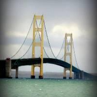 """Mackinac Island Bridge"" by srab44_2000"