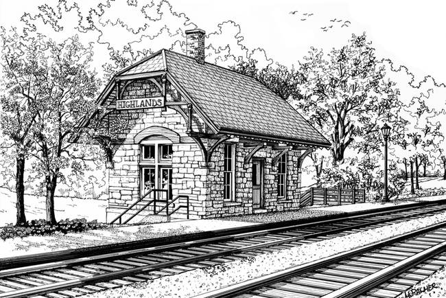 Highland Train Station