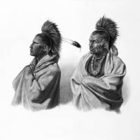 American Indians Art Prints & Posters by Vintage Works