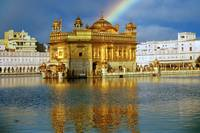 Golden Temple Rainbow