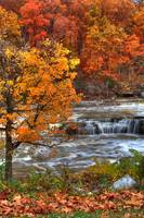 Cataract Falls - Autumn (IMG_8917a) by Jeff VanDyke