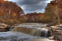 Cataract Falls - Autumn #9 (IMG_9007) by Jeff VanDyke