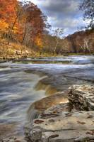 Cataract Falls - Autumn #12 (IMG_9043+) by Jeff VanDyke