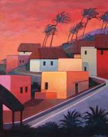 Mexican Coast Village